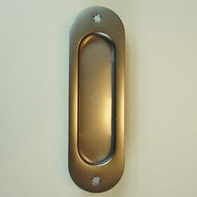 Skydedørsskål Oval Rustfri stål - 275,00 kr.