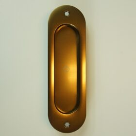 Skydedørsskål Oval Bronze - 335,00 kr.