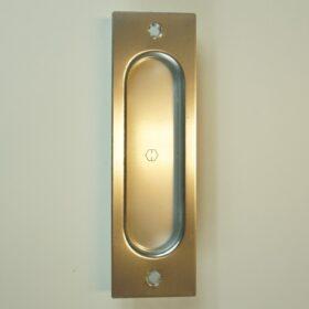 Skydedørsskål Rektangulær Sølv - 275,00 kr.