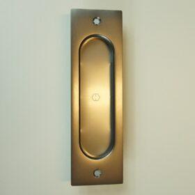 Skydedørsskål Rektang. Rustfri stål - 275,00 kr.